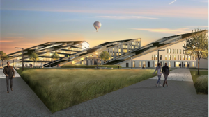 Twee nieuwe gebouwen voor Corda Campus in Hasselt