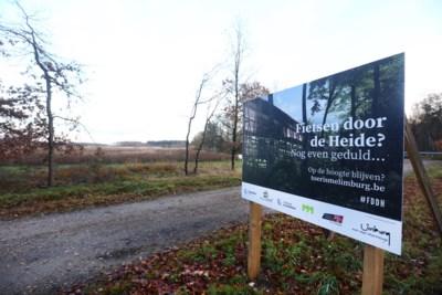 """'Fietsen door de Heide' pak duurder dan eerst geraamd """"maar project zal hoe dan ook doorgaan"""""""