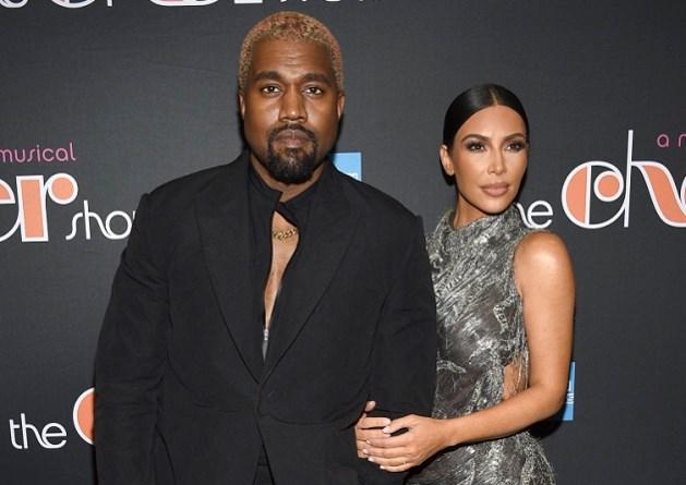 Avondje uit van Kim Kardashian en Kanye West loopt helemaal in het honderd