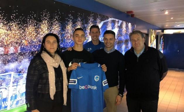 KRC Genk beloont youngster Amine Et-Taïbi (15) met eerste contract