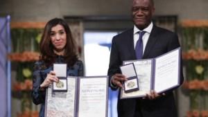 Nobelprijs uitgereikt aan Denis Mukwege en Nadia Murad