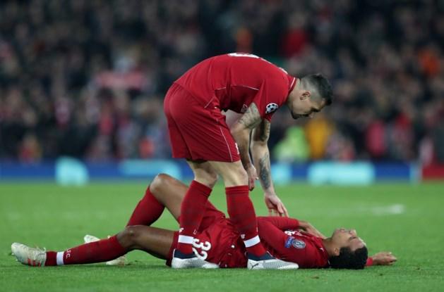 Liverpool-verdediger Joel Matip enkele weken buiten strijd met sleutelbeenbreuk