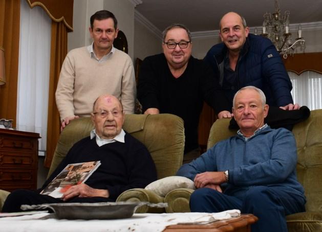 Heemkundige Kring Wotra bezoekt oudste inwoner van Neeroeteren