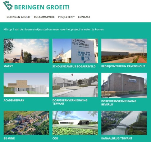 Lancering website Beringen Groeit