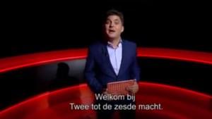 Eén verspreidt eerste beelden van 'Twee tot de zesde macht' met Jeroen Meus als presentator