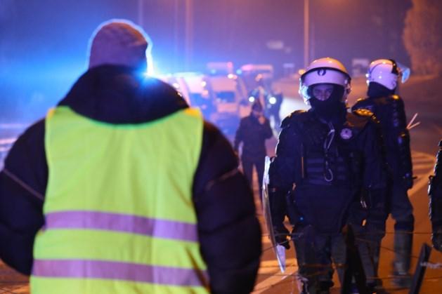 Gele hesjes bezetten opnieuw snelweg in Feluy (Henegouwen)