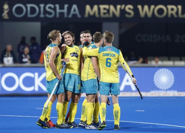 Wereldkampioen Australië pakt brons op WK hockey na 8-1-zege in troostfinale