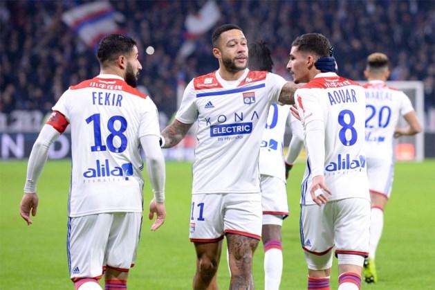 Olympique Lyon (met Denayer) houdt Youri Tielemans en Nacer Chadli in degradatiezone