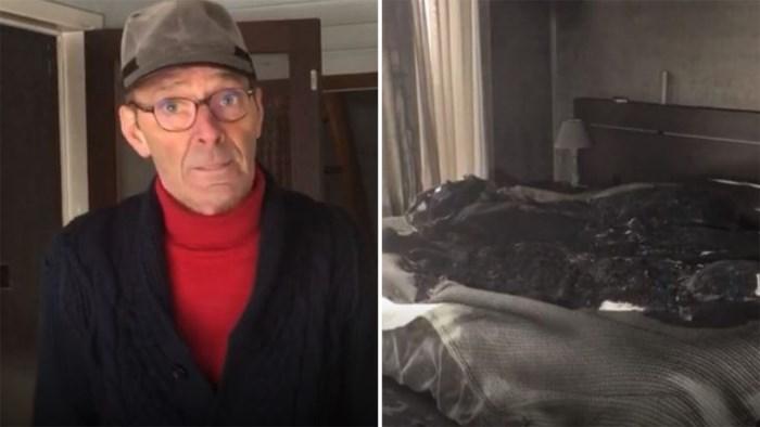 """Eigenaars meten schade op in uitgebrand huis: """"We hebben niets meer, alleen de kleren die we dragen"""""""
