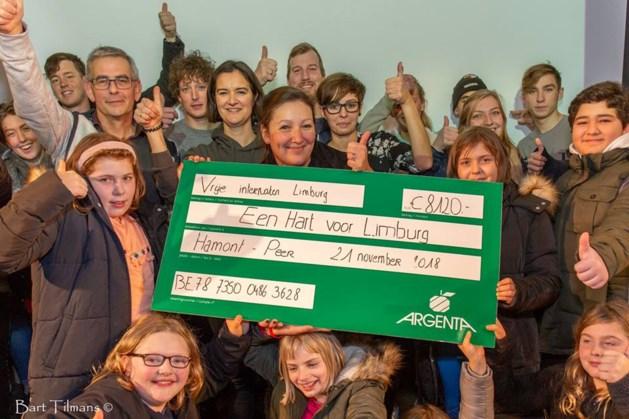 Meer dan 500 internen geven hun Hart voor Limburg