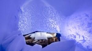 Binnenkijken in het nieuwe ijshotel in Zweden