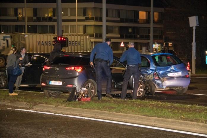 Verkeershinder na botsing tussen drie auto's op N80 in Sint-Truiden
