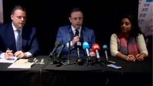 """De Wever, Beels en De Backer stellen 'ontwerp-bestuursakkoord' voor: """"Antwerpen moet meest mobiele en leefbare stad van Europa worden"""""""