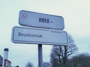 Nieuwe straatnaamborden voor Oudsbergen geplaatst