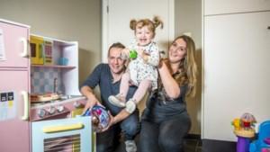 Aury (1,5) uit Hamont-Achel verloor haar tweelingzusje tijdens de zwangerschap