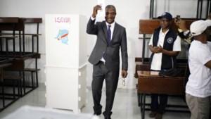 """Chaotische verkiezingen in Congo, maar kandidaat van Kabila is zeker: """"Ik win"""""""