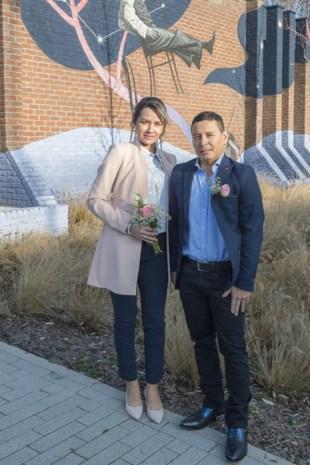 Magda en Carlos in Genk