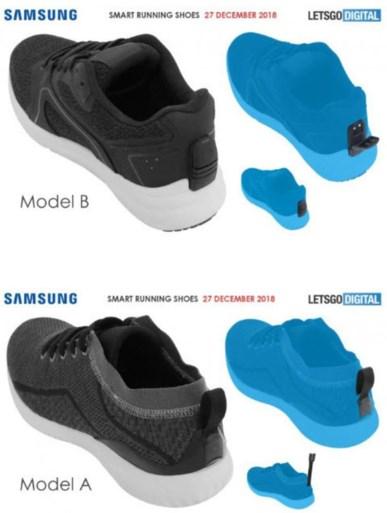 Na smart TV en smart koelkast: Samsung neemt patent op technologie voor slimme sneakers