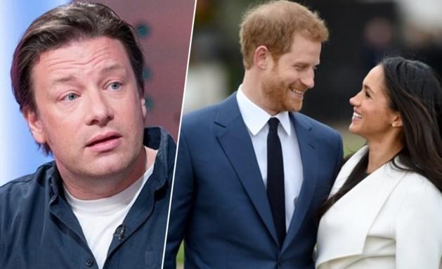 Jamie Oliver wilde koken voor prins Harry en Meghan Markle, maar kreeg het deksel op zijn neus