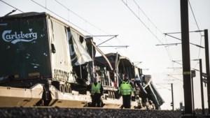 Passagierstrein botst op goederentrein op Deense brug: minstens zes doden