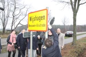 Gemeentenaam Meeuwen-Gruitrode en Opglabbeek definitief uit het straatbeeld