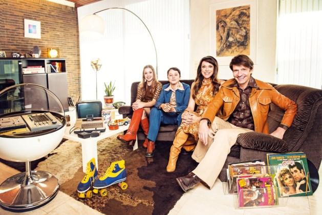Uniek: Koen Wauters met zijn hele gezin op tv