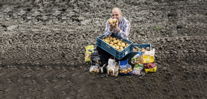 Bloemige aardappelen