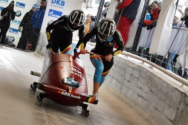 An Vannieuwenhuyse en Sara Aerts stranden op achtste plaats op WB bobslee in Altenberg