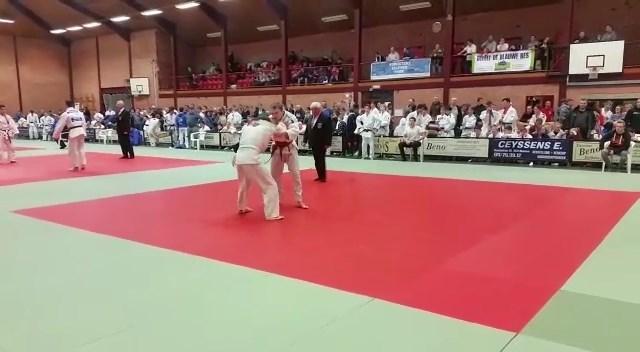 Bijna 200 internationale judoka's op de mat tijdens tornooi in Oudsbergen