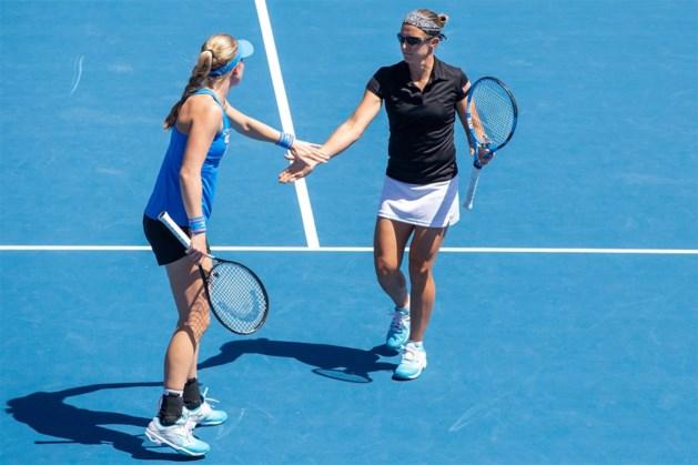 Kirsten Flipkens sneuvelt in halve finales dubbelspel in Nieuw-Zeeland