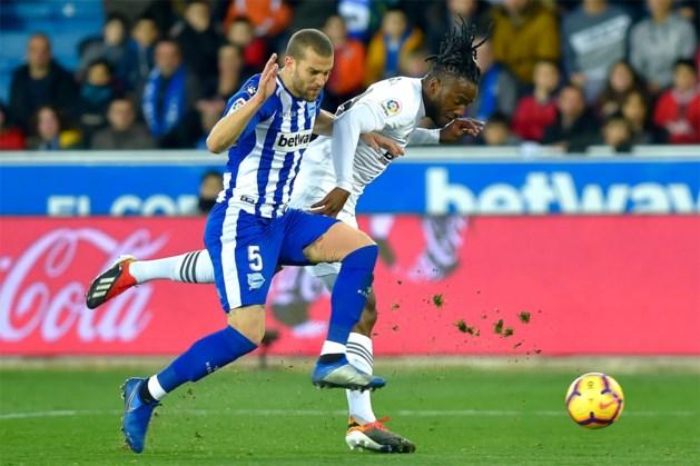 Invaller Batshuayi kan nederlaag niet voorkomen: Valencia onderuit bij Alaves