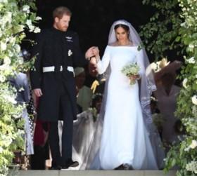 Eenvoudige jurken, grassen als decoratie en andere trends voor wie trouwt in 2019
