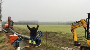 De Watergroep werkt aan nieuwe toevoerleiding voor zacht water