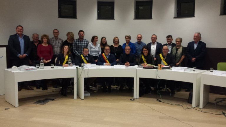 Raadzaal helemaal vol voor installatie nieuwe gemeenteraad