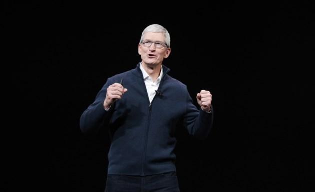 Apple-topman Tim Cook krijgt recordbonus van 12 miljoen dollar