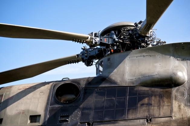 Man onthoofd bij onderhoud helikopter