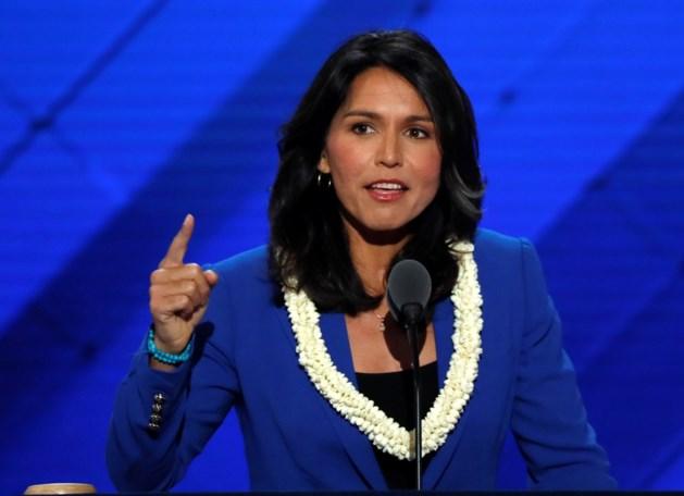 Jonge Democrate Gabbard kandidaat voor Amerikaanse presidentsverkiezingen van 2020