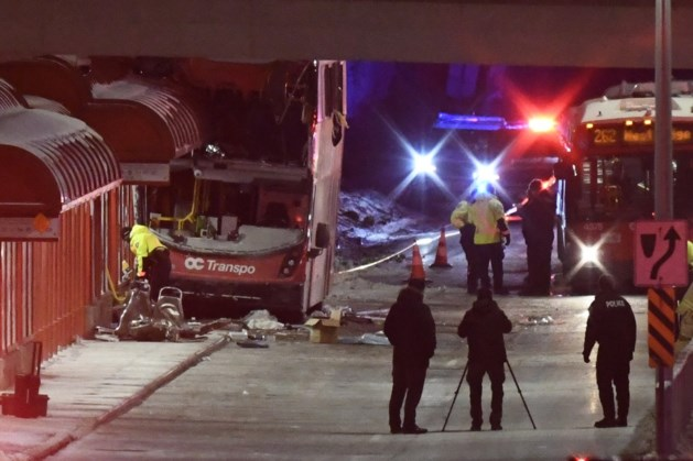3 doden en 23 gewonden bij ongeval met dubbeldeksbus in Ottawa