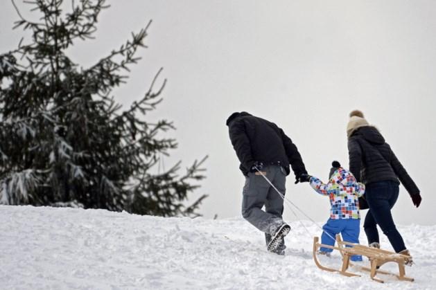 Volgende week sneeuw in Hoog België