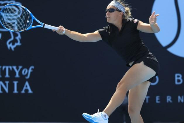 Kirsten Flipkens verliest dubbelfinale in Hobart, Kenin verslaat Schmiedlova in enkelfinale en pakt eerste WTA-titel