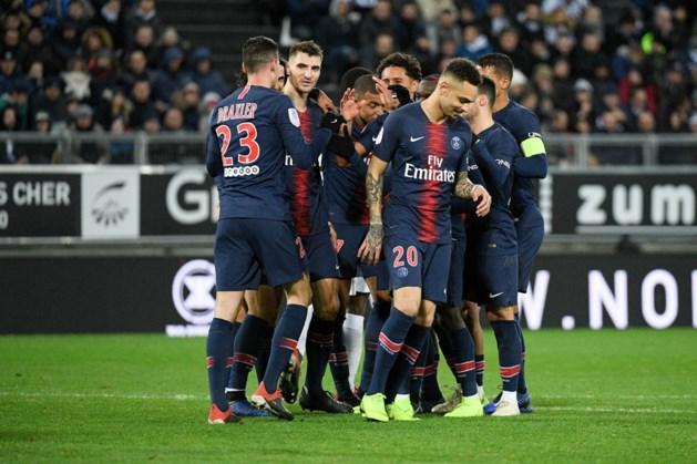 Thomas Meunier wint vlotjes met PSG