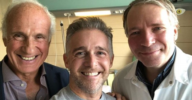 Christoff (42) mag ziekenhuis verlaten na spoedoperatie aan het hart