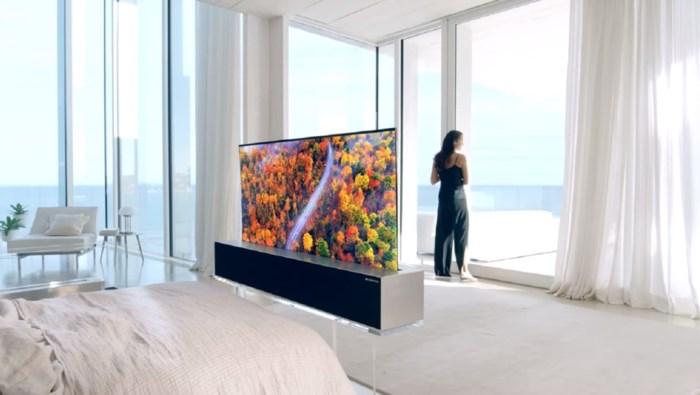Een oprolbare tv en supersnel internet: dit zijn de gadgets voor het nieuwe jaar