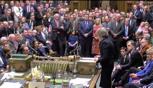 Nederlaag voor Theresa May: Brits parlement verwerpt brexitdeal