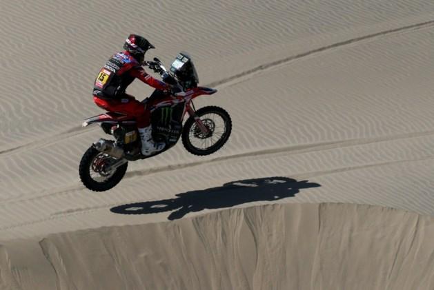 Leider Ricky Brabec geeft op met motorbreuk in Dakar