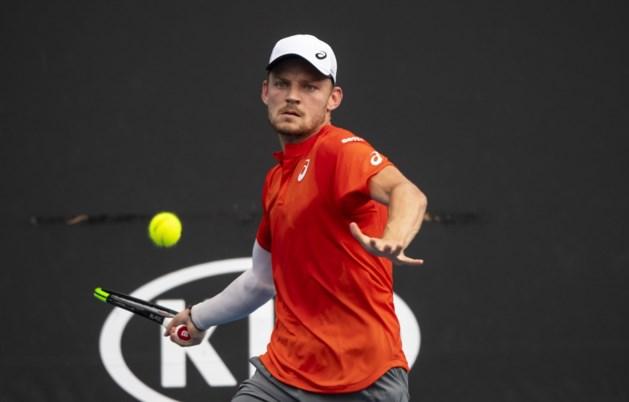 """David Goffin tankt vertrouwen met zege op Australian Open: """"Heel positief voor het vervolg"""""""