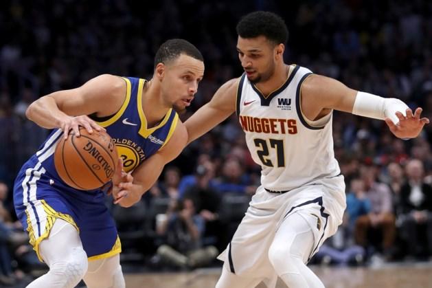 NBA. Titelverdediger Golden State Warriors zet Denver Nuggets op zijn plaats met verpletterende score