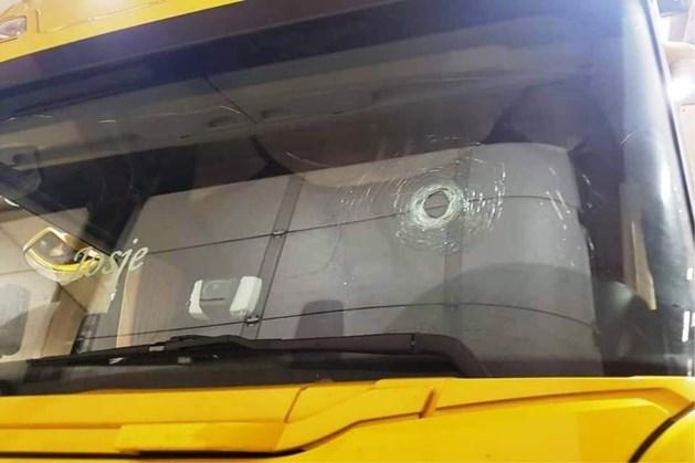 Dit is de truck van de chauffeur die verdacht wordt van doodrijden 'geel hesje'