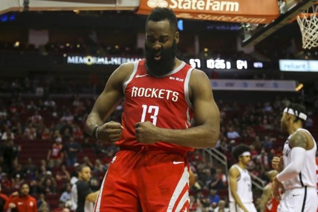58 punten, wat kan je meer doen? James Harden kan Houston Rockets niet naar zege loodsen