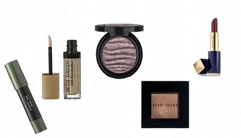 Make-uptrend: een vleugje metallic
